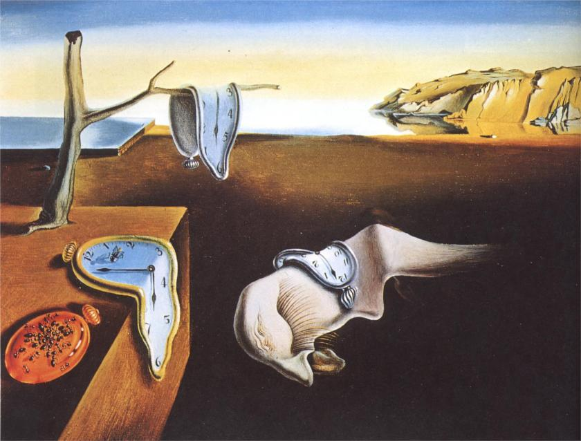 Salvador-Dali-The-Persistence-of-Memory-1931
