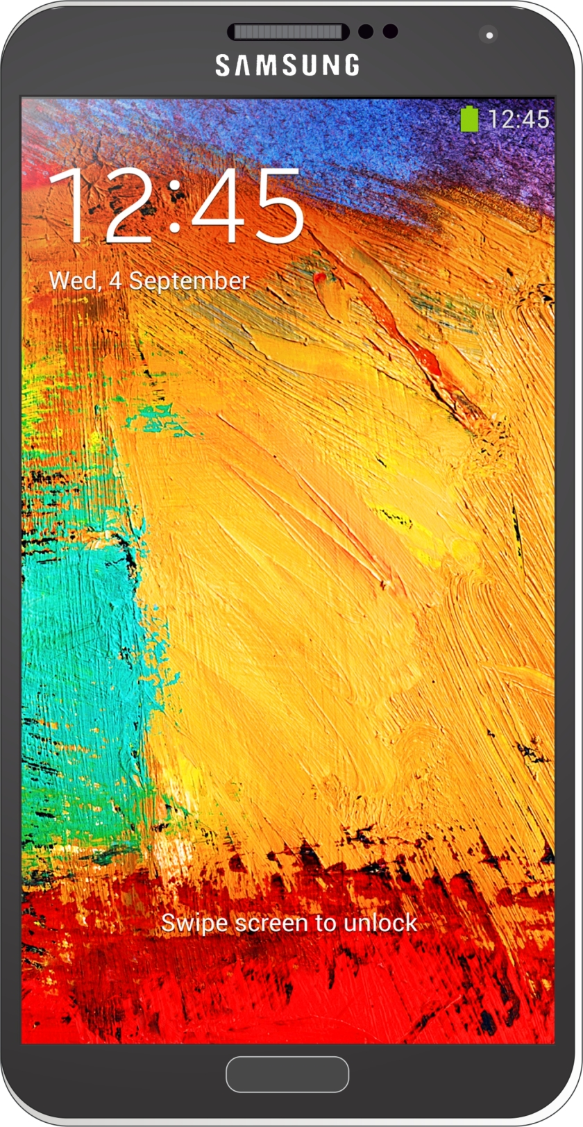 Samsung Note Negro Web
