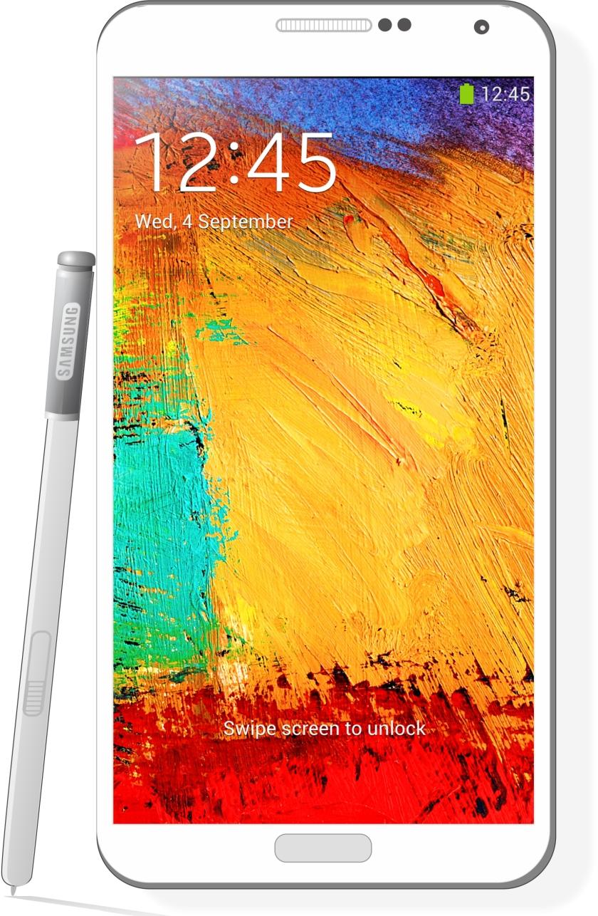 Samsung Note White Web