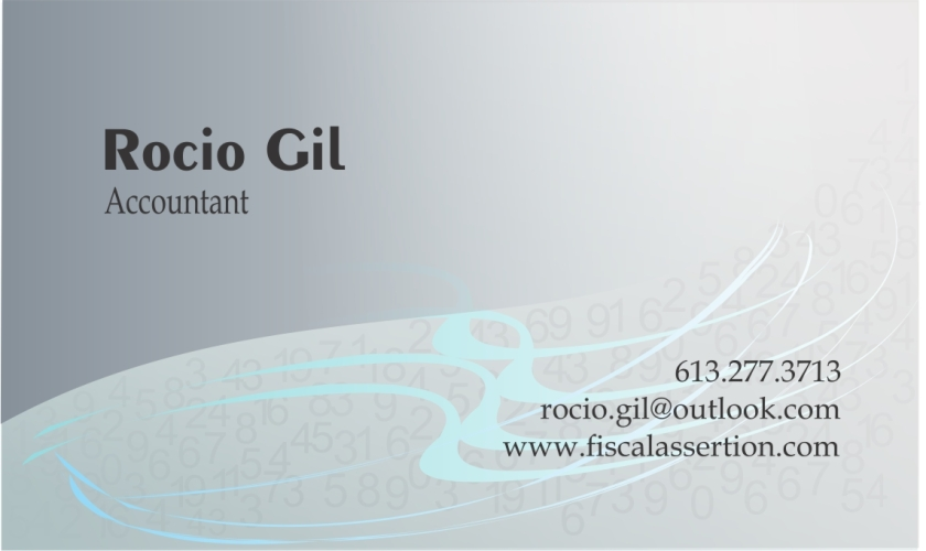Rocio Gil Business Card Web