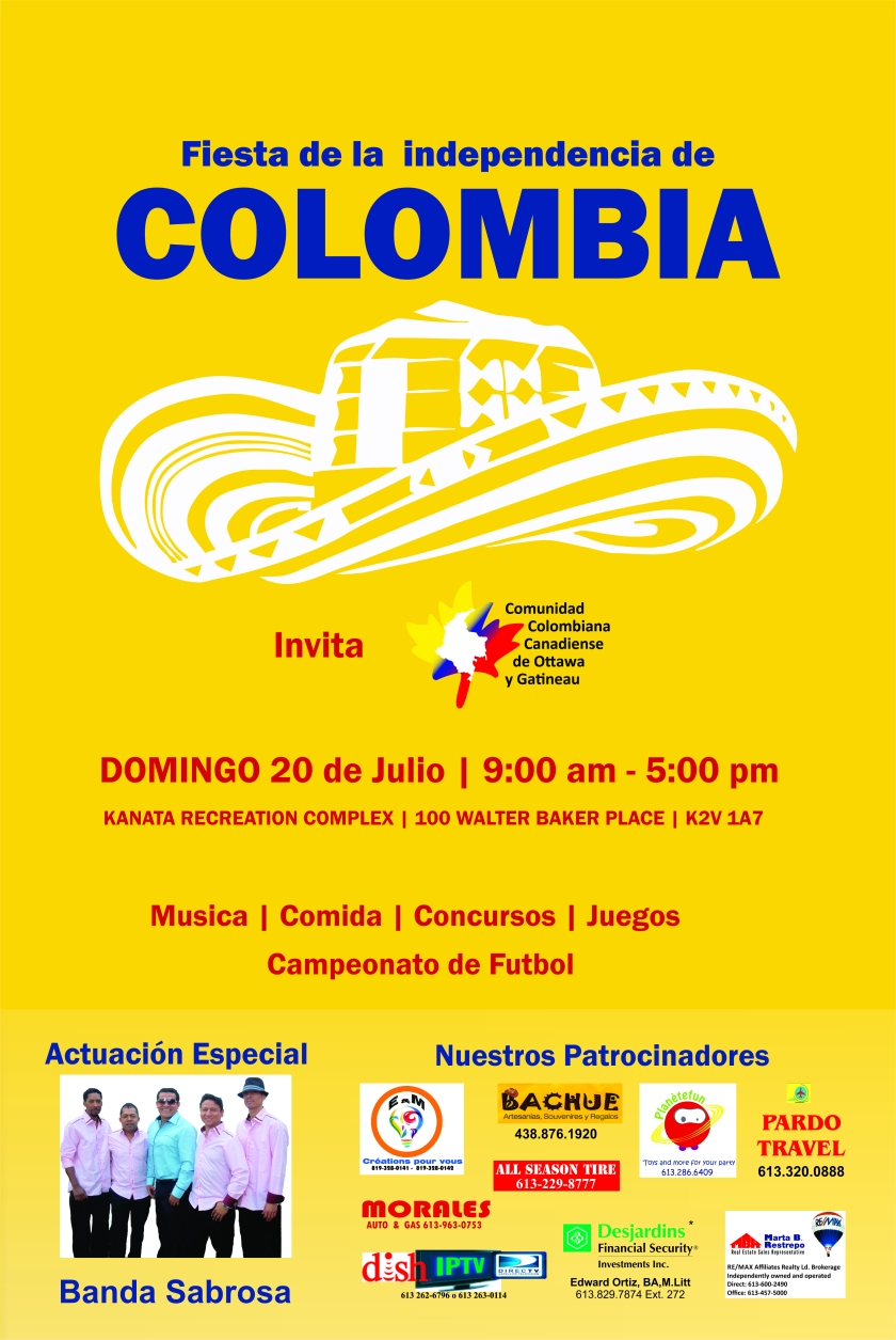 Poster Independencia Colombia