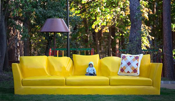 The Couch: Concrete in theUkraine