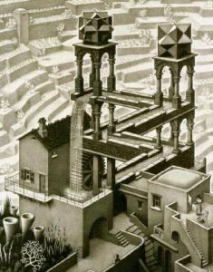 Escher_Waterfall