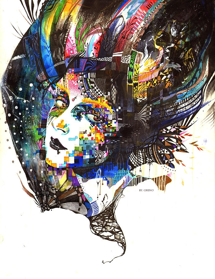 Amazing Colorful Illustrations by MinjaeLee
