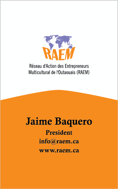 business card Raem 2